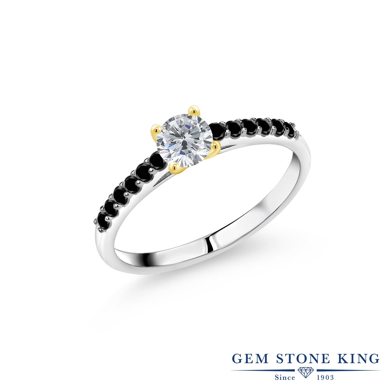 0.7カラット 天然 ダイヤモンド 指輪 レディース リング ブランド おしゃれ 一粒 パヴェ ダイヤ 小粒 マルチストーン 天然石 4月 誕生石 婚約指輪 エンゲージリング