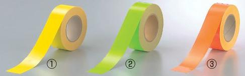 蛍光テープサイズ:50mm幅×20m巻(0.2mm厚)材質;蛍光フィルム
