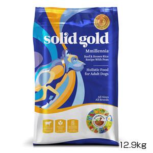 【PET】【送料無料】【正規品】ソリッドゴールド ミレニア(成犬 活動犬用) 12.9kg (093766130289)【T】