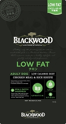【PET】【送料無料】★数量限定おまけ付★ ブラックウッド LOW FAT(体重管理) チキン 20kg 全犬種 成犬期~老齢期 JAN:4562210501280【B】