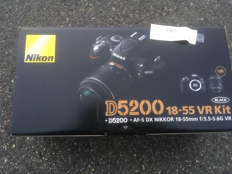 【増税による値上げはしていません】<送料無料>コストコ アウトレット 返品・開封 #581162 Nikon ニコン D5200 18-55 VR Kit デジタル一眼レフカメラ<ブラック> 4960759134868【Z】