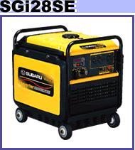 【送料無料】 スバル インバーター発電機SGI28SE【建築用品】【K】