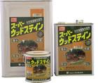 【送料無料】スーパーウッドステイン【油性木材保護塗料】16L/1缶 クリア 【K】