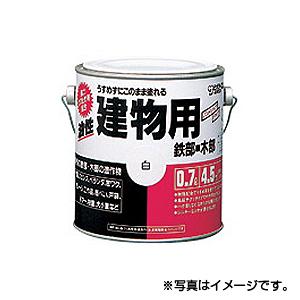 【サンデーペイント】油性建物用 1.6L ミルキーホワイト 1ケース(4個入り) ※代引き不可商品※【K】