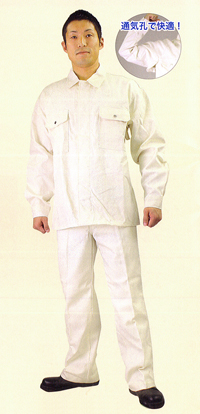 【送料無料】【防炎綿製品】綿プロバン 防炎服【上着】NB-3610 サイズ:3L ※代引き不可※【NB】