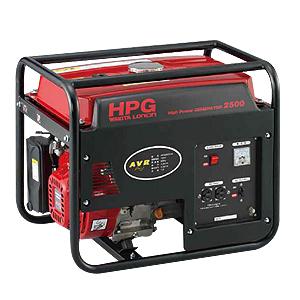 【発電機】【ワキタ】発電機 HPG2500-5(50Hz) ※代引き不可商品※【K】