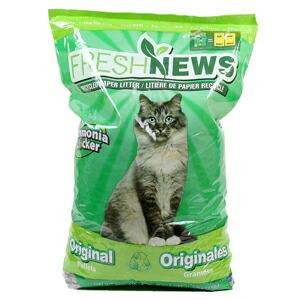 フェレット 低廉 猫 トイレ砂 至上 PET フレッシュニュース 11.36kg NC JAN:0850357002253