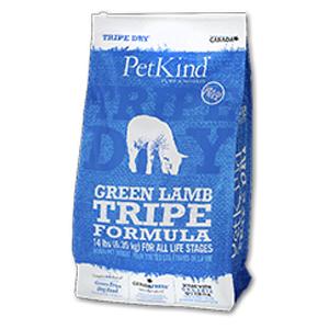 【PET】【送料無料】【ペットカインド】トライプドライ グリーンラムトライプ 11.34kg JAN:0882978710002【MA】