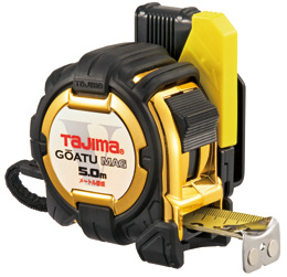 TJMデザイン 新品 送料無料 剛厚セフコンベG3ゴールドロックマグ爪25-5.0m メートル目盛 信用