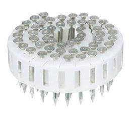 MAX コンクリート釘(直角タイプ)CCP50V9-H 焼入ユニクロメッキ 50本×20巻×2箱