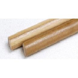 タモ集成材手すり棒 35×4000  (ナチュラル・ブラウン)
