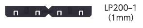 吉川化成キソスペーサーロング換気タイプ用レベルプレート2mm用LP200-2(200枚/ケース)