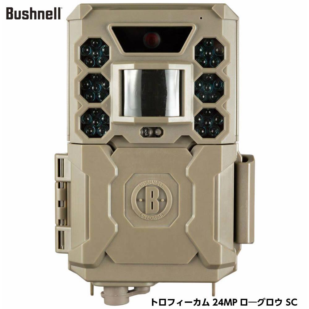 Bushnell ブッシュネル トロフィーカム 24MP ローグロウ SC 屋外型センサーカメラ 無人監視カメラ 防犯カメラ [日本正規品]