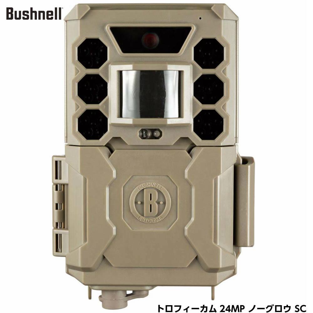 Bushnell ブッシュネル トロフィーカム 24MP ノーグロウ SC 屋外型センサーカメラ 無人監視カメラ 防犯カメラ [日本正規品]