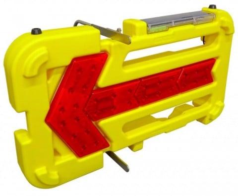 キタムラ産業 壊れにくい矢印板 KAB-003 ソーラー式LED矢印板