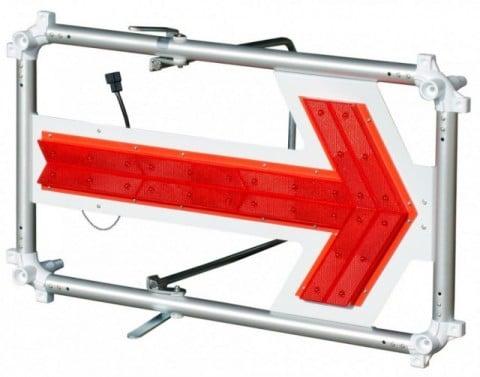 キタムラ産業 エアロアローII SKFB-006R LED矢印板 エアロフロー2