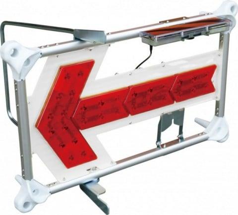 キタムラ産業 エアロアローIII KAC-004 LED矢印板 エアロフロー3 ハイブリッド(ソーラー・乾電池)
