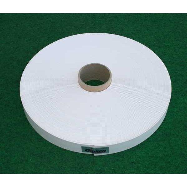 Glaken ブーブーライン(ロールタイプ) 3cm幅 白 50m巻 BBL3-50 (釘別売り) [駐車場駐 輪場専用ラインテープ 駐車場ライン引き]