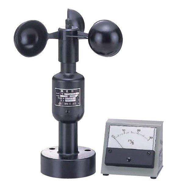 [送料無料] 大田商事 小型アナログ指示風速計 OT-803 [アナログ風速計 ケーブル20m付属 メーカー社内検定付]