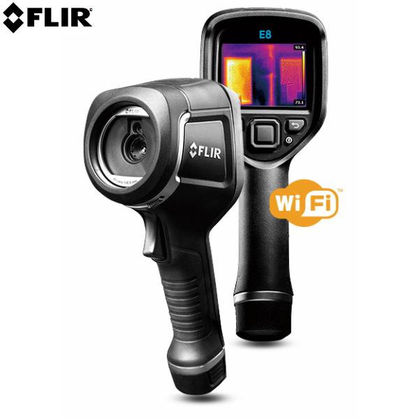 受注生産品 FLIR フリアーEx WiFiシリーズ フリアーE8-XT 赤外線サーモグラフィ (建物検査 電気設備 機械設備 保守点検) [日本正規品]