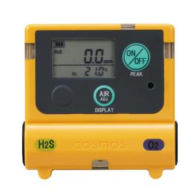 新コスモス電機 XOS-2200 酸素・硫化水素計 [酸欠防止 中毒防止 タンク マンホール トンネル工事]