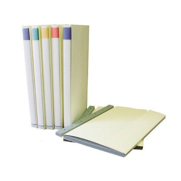 ワカホシ HAPPY電子ファイル 5冊セット (A4リファイル&リファイル台紙DR-21セット品) FR-20 [電子納品 ハッピー電子ファイル]