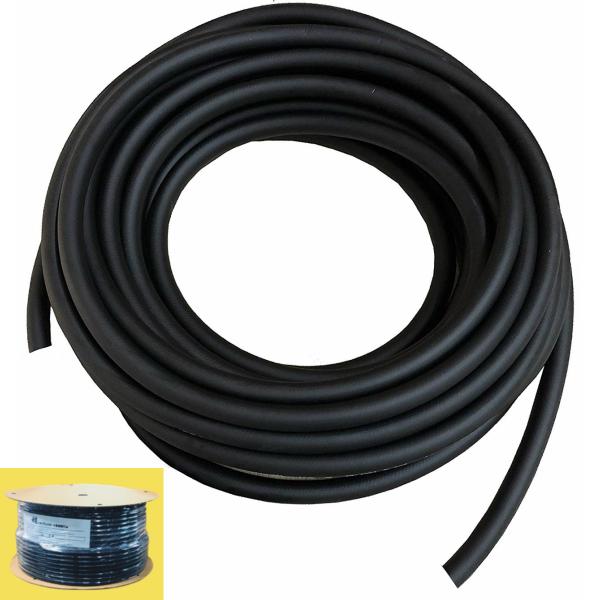 H&Mコーポレーション 常圧ソフトブラックホース TBK7120B 長さ120m 内径6.5mm 最高使用圧力1.5Mpa カブラなし