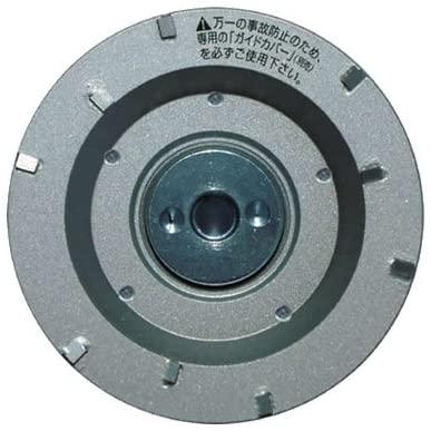 ツボ万 ポリッシャ 塗膜はがし専用 静音マクトルIIIシルバー MCS-9293 (外径92mm × 取付穴M10ネジ) コード11273 塗膜はがし 厚膜用 静音タイプ