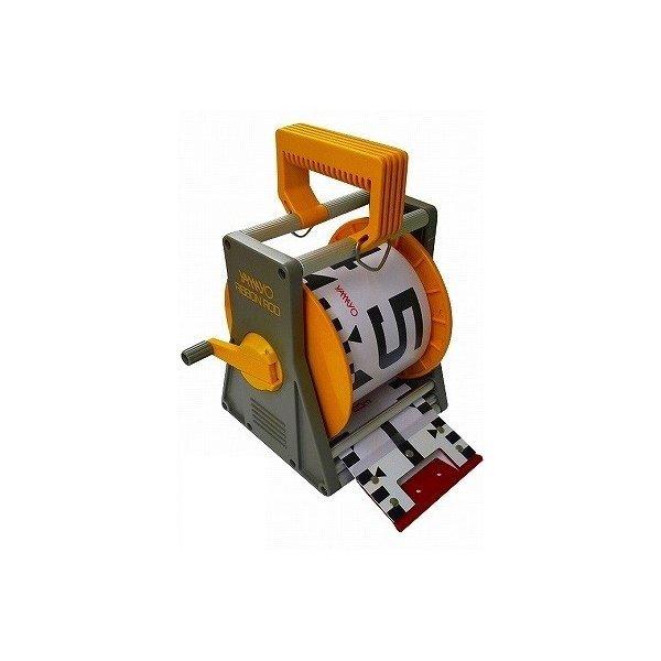 YAMAYO ヤマヨ測定機 リボンロッド 120mm幅 10m ケース付 R12B10S E2タイプ(表タテ数字20cm毎赤白 裏ヨコ数字1m毎赤白) リボンテープ 【測量/土木/建築/現場写真/工事写真】