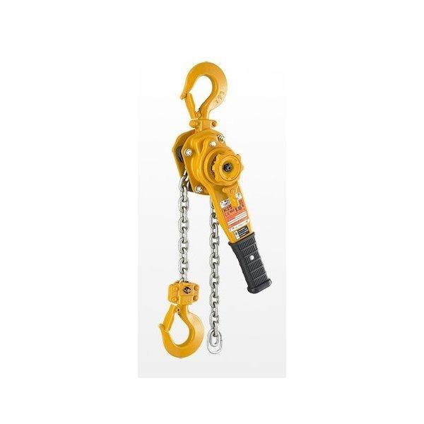KITO キトーレバーブロックL5形 LB010 L5-1.0ton 揚程1.5m [小型 軽量 強靭 建築 土木 造船 林業]