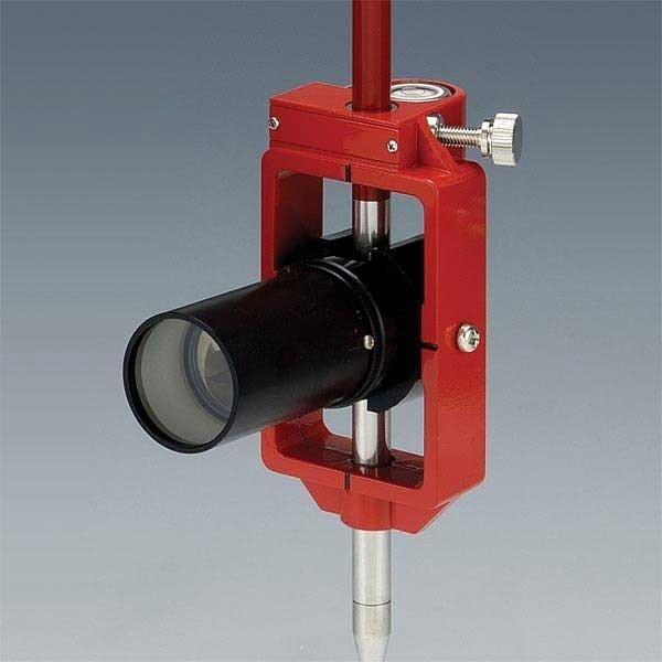 神山製作所 K式ピンポールプリズム3型セット スライド式 定数-30mm ワンタッチストップ機構 (落下防止型) プリズム径1インチ [測量 土木 光波用ミラー]