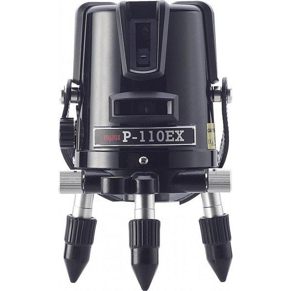 [JSIMA認定店] MYZOX マイゾックス レーザー墨出器 P-110EX 本体セット