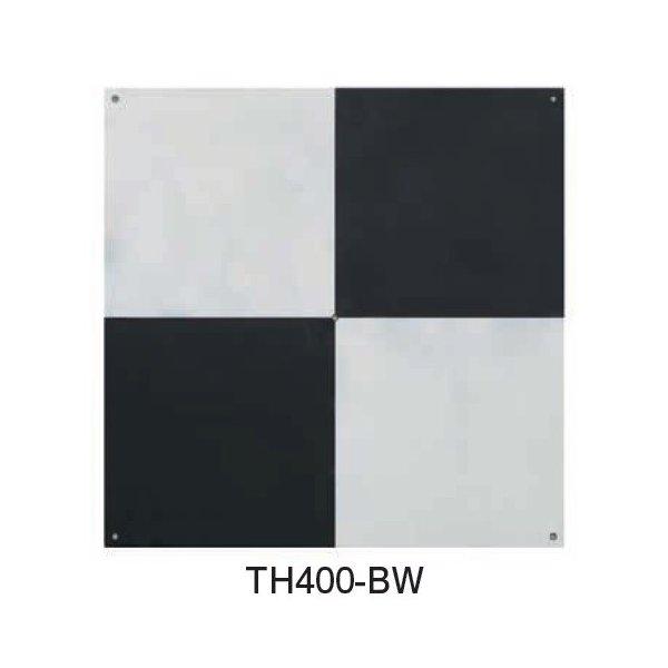 MYZOX マイゾックス 対空標識400 白&黒 (10枚入) TH400-BW [測量 地土地家屋調査 ドローン 航空写真測量]