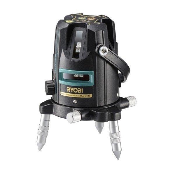 [JSIMA認定店] RYOBI リョービ HLL-350G グリーンレーザー墨出器 (受光器・三脚付き) 屋内外兼用 [建築 墨出し]