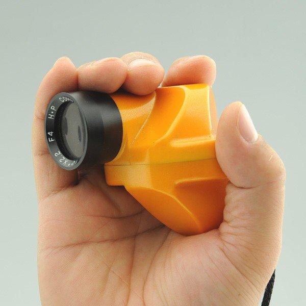 [送料無料] 石神井計器製作所 コンパスグラス HB-3Y オレンジ 倍率2.2倍
