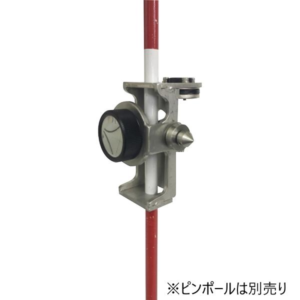 大平産業 ピンポールプリズム ネジ式 1インチ OT-PZ02-10 光波用ミラー 対応ピンポール径9mm ピンポールは別売り