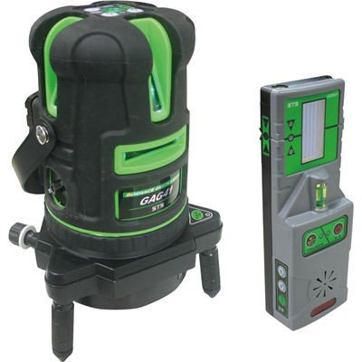[JSIMA認定店] STS エスティ―エス 自動誘導グリーンレーザ墨出器 GAG41 受光器付き