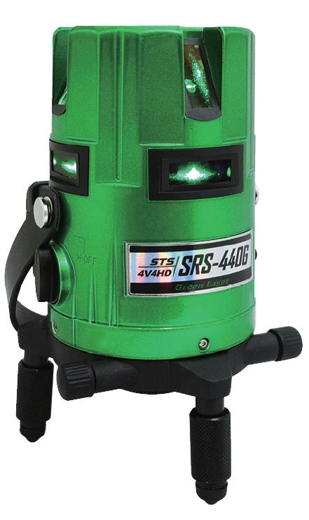 [JSIMA認定店] STS エスティ―エス SRS-440G グリーンレーザー墨出器
