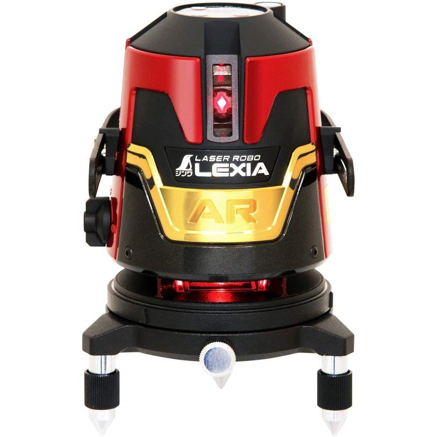 横全周+縦ライン4本のフルラインタイプ JSIMA認定店 シンワ測定 70905 豪華な レーザーロボ レッド 51AR レーザー墨出器 LEXIA 定価の67%OFF