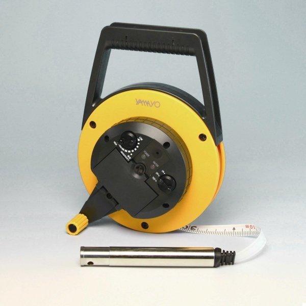 ヤマヨ ミリオン水位計 10m WL10M テープタイプ 片面2mm目盛 水位検知ランプ付