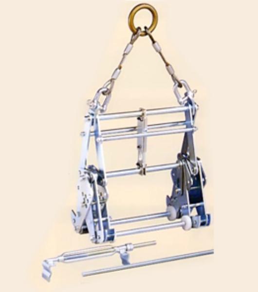◇マシンバイス 内吊り 内吊ワイド600 サンキョウトレーディング U字溝吊具  適応サイズ 240~600/ 定格容量:1000kg