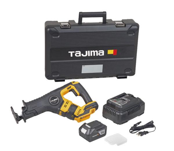 (T) タジマ TAJIMA  新開発キャッチングにより4方向切断が可能 レシプロソーR400Aセット PT-R400A-SET ※代引き不可