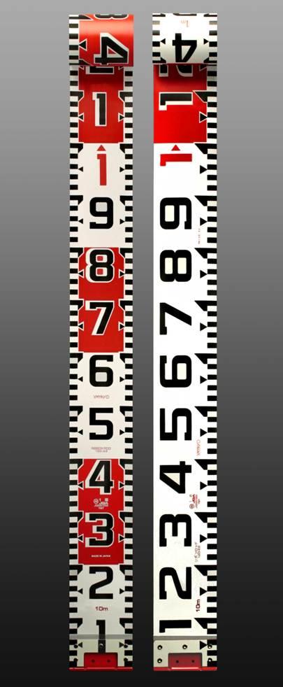 ♪☆あす楽対応☆送料無料☆ヤマヨ リボンロッド両サイド120E-2 現場記録写真用巻尺 120幅 20m R12B20