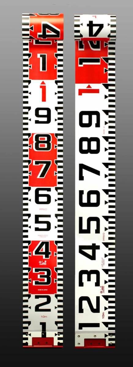 ♪☆送料込最安☆ヤマヨ リボンロッド両サイド150E-2 現場記録写真用巻尺 150幅 10m R15B10