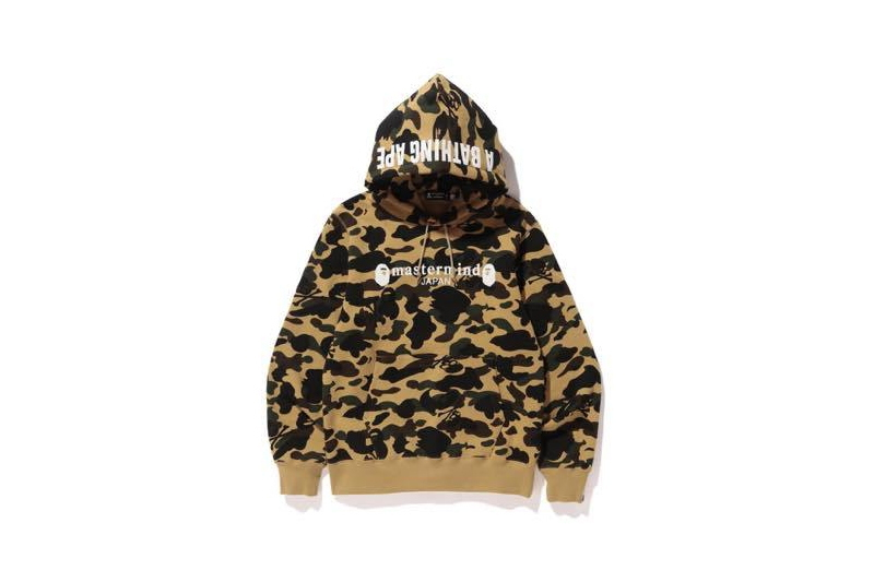 A BATHING APE × MASTERMIND JAPAN/PULLOVER HOODIE[yellow] 2016年モデル