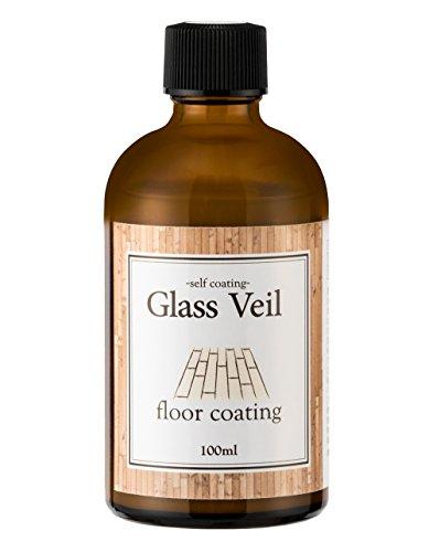 フローリング用ガラスコーティング剤 グラスヴェール フロア(床用) 100ml [約24畳] 床材保護 UVカット 日米特許取得