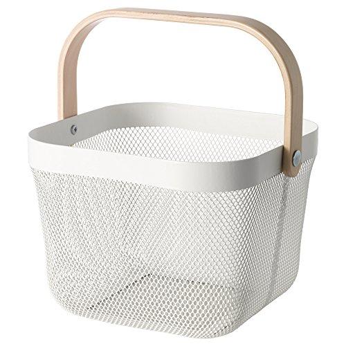 IKEA マーケティング イケア 通信販売 RISATORP ホワイト バスケット