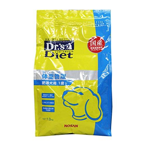 療法食 ドクターズケア ドッグフード 送料無料新品 DRSDIET SALE 犬用 体重管理 1.8kg
