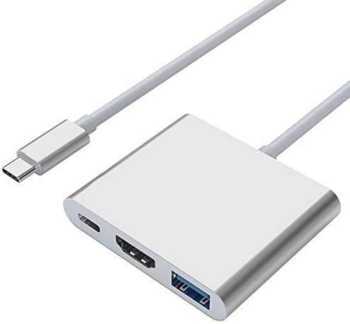 marushin Type-C to 当店限定販売 HDMI 4K対応 変換アダプター USB3.0 pro USB-C MacBook ハブ 変換3-in-1 air 驚きの値段で