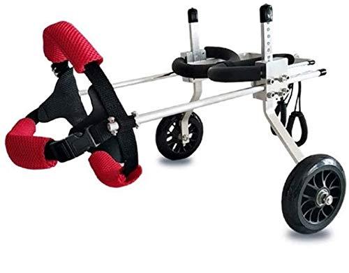 犬用車椅子 ペット用車椅子 ペット歩行器 激安特価品 付与 後肢障害ペット用 後足支持 高さ調整可能 コーギー 柴犬な 老犬介護 軽量アルミ製 散歩補助